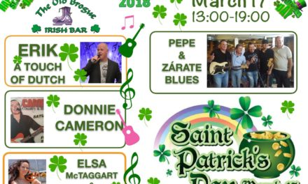 Saint Patrick's Day Celebrations at The Old Brogue, Gran Canaria
