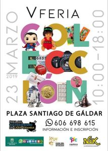 5th Collectables fair of Gran Canaria - Gáldar