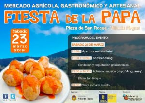 Potato Fair in Firgas