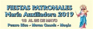 Patron saint celebrations in honour of Maria Auxiliadora - Motor Grande, Puerto Rico