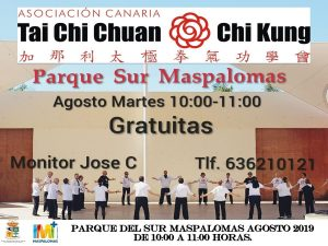 Free Summer Activities in Maspalomas - TAI CHI CHUAN & CHI KUNG
