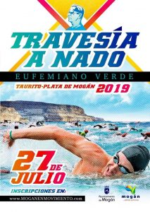 Travesía a Nado, open water swimming competition - Mogán