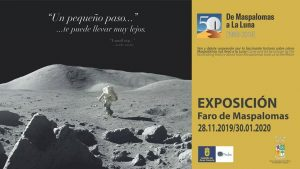 Exhibition : 'From Maspalomas to the Moon' - Faro de Maspalomas