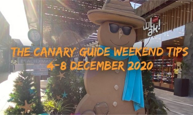 The Canary Guide Weekend Tips 4-8 December 2020