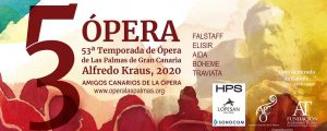 The 54th season of Opera Las Palmas de Gran Canaria