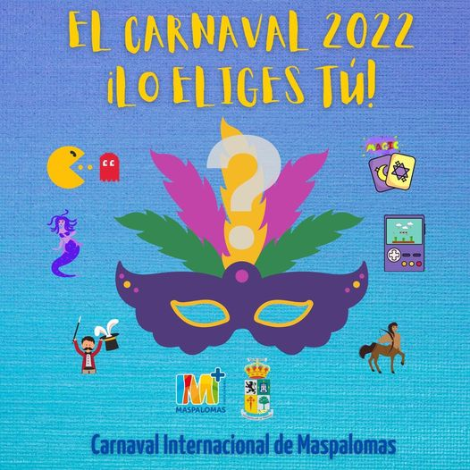 Would you like to choose the Maspalomas Carnival Theme 2022?