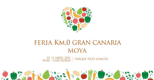 Km.0 Gran Canaria Fair in Moya 10-11 April