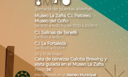Santa LucÍa is celebrating 'International Museum Day' with an Open Day